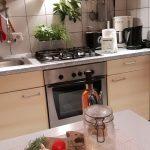 Küche mit hauseigenem Lorbeer